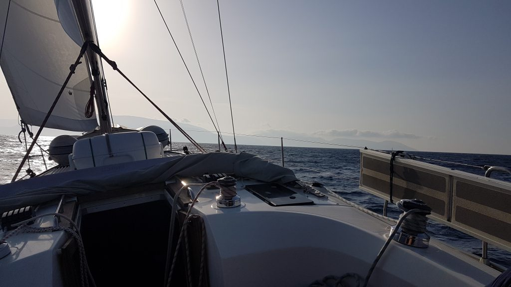 Sailing towards Ithaca with GPS tracker