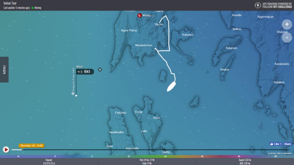 GPS boat tracker