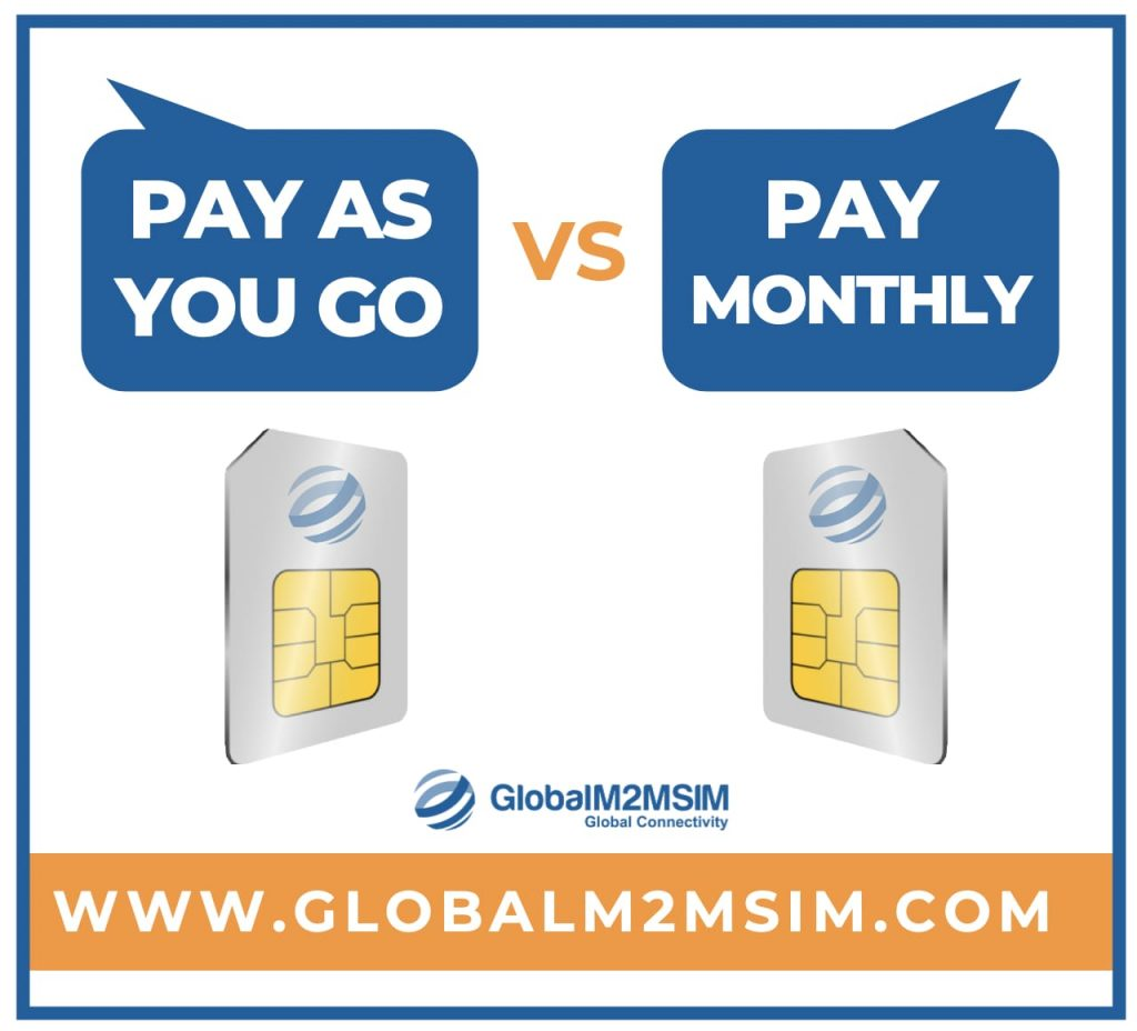 PAYG vs Pay Monthly